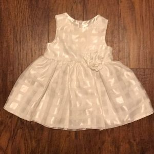 Infant white American Princess Dress with bloomers